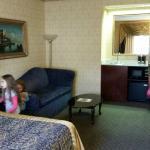 Spacious room.