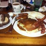 Lumberjack Breakfast for about $9