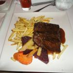 My steak and fries