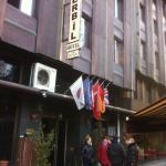 Вход в отель Erbil