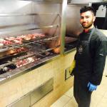 Great chef at Braceria