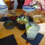 margharitas, chips n dips and a salty chihuaha