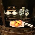 Welcome fruit platter