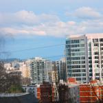 View near downtown