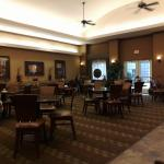 Breakfast/Dinner Area at Homewood Suites Fayetteville