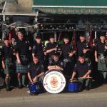 Our friends the Surrey Firefighters Pipe & Drum band from St. Patrick's 2013