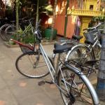 the bikes parking corner..