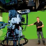 Einmal selbst Wetterfrosch ein - ganz einfach im Wetterstudio in der Bavaria Filmstadt