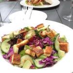 Haloumi Salad & Gourmet Burger