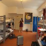 Panoramic view of the room, lots of space and just our group 👍