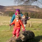 Family walks at Longshaw