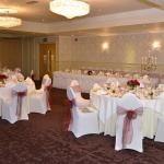 Our wedding breakfast all perfectly set up by Caroline x