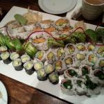 Vegan Sushi New Years Eve Dinner 2014