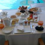 In Villa Breakfast