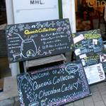 Chocolate Cafe Menu