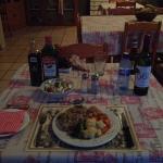 Jeden Abend ein leckeres frisch zubereitetes Abendessen.