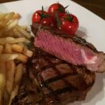 try our steaks they are awesome