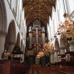 The organ in the Grote of Sint Bavokerk, Haarlem
