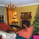 Parlor/Lobby area before Christmas