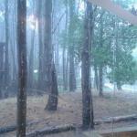 el 31 x la mañana durante el desayuno llovía de una manera HERMOSA!