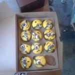 They got smashed on the way to the party. Minions!