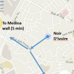 Exact location of riad
