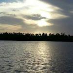 In the bio lagoon before sunset  SPRAYGUN