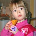 Molly Wilczynski also likes Jasmine's egg rolls