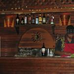 Shot of the small bar and the owner!!!