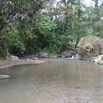 Quebrada cercana