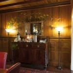 Dining Breakfast Sideboard with original wall painting