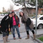 Con las amigas