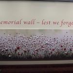 Beautiful ANZAC wall for 2015