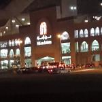 Mall of Emirates from outside our hotel