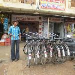 De georganiseerde fietstocht.