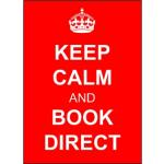 Book Direct so we can meet your needs better
