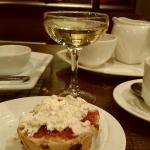 Delicious Cream Tea with Fizz
