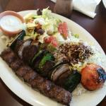 Steak & Kobadia Platter... Yummy!
