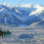 View from Glacier Express Chairlift