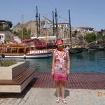 гавань в Старой Анталии