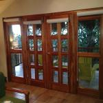French doors out to porch Rooftoop 2