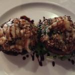 Lobster & Crab Stuffed Mushrooms