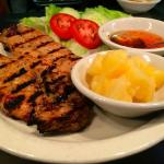 BBQ Chicken with Sticky Rice & Pineapple