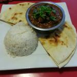 Indian pork and chick pea curry - delicious!!!