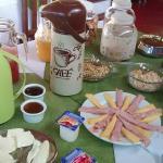 café da manhã delicioso!!!