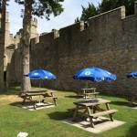 Witton Castle beer garden