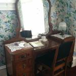 vanity in our room
