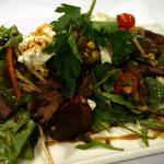 Marinated Kangaroo Salad