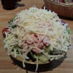 My Turkey Salad at Tiny Tim's Pizza