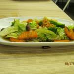 Pad Pak Ruam Stir fried Mixed Vegetables